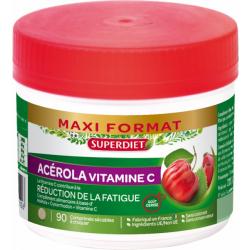 Acérola 500 Vitamine C naturelle 90 comprimés - Super Diet