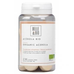 Acérola Bio 64g 30 comprimés - Belle et Bio