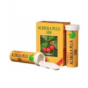 Acérola Plus 500 naturelle Boite de 2 tubes de 15 comprimés x30 - Phyto-Actif