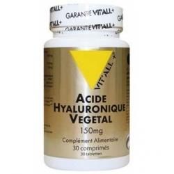 Acide Hyaluronique Végétal 150mg 30 comprimés - Vit'all +