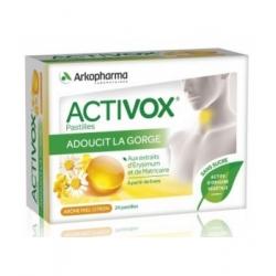Activox Miel Citron 24 pastilles - Arkopharma
