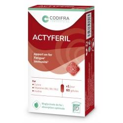 Actyferil 60 gélules - Codifra