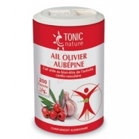 Ail + Olivier + Aubépine 200 capsules - Tonic Nature Aromatic provence