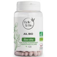 Ail bio 120 gélules - Belle et Bio Aromatic provence
