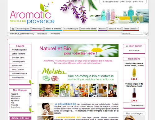 Boutique Aromatic Provence