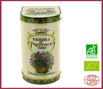 herbes-de-provence bio boîte 100 gr Provence d'Antan