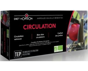 Circulation bio ampoules TEP - DIET HORIZON