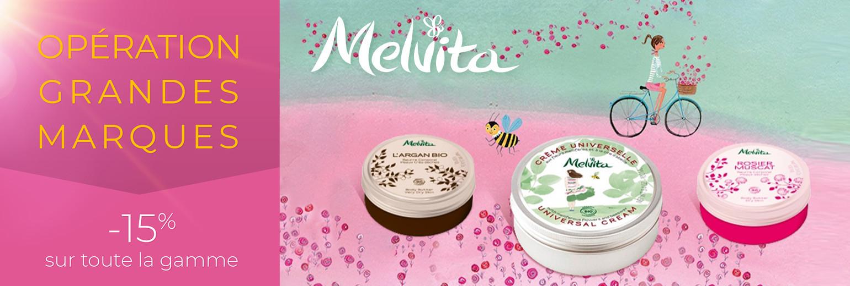 OPERATION GRANDES MARQUES - 15% sur la gamme Melvita