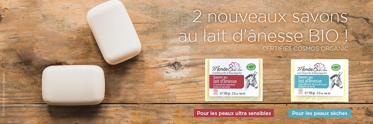 -25% pour les savons au lait d'ânesse
