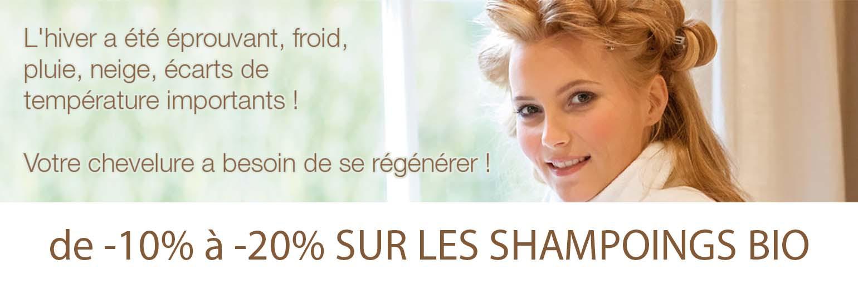 shampoings bio promotion