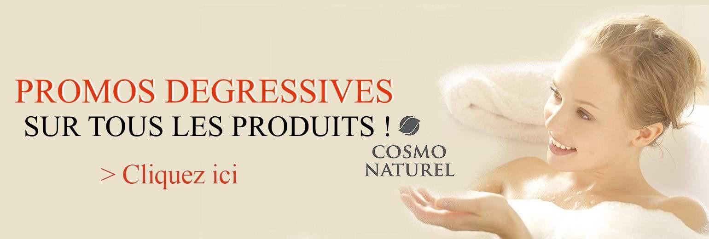 Cosmo - Naturel Promos degressives sur tous les produits !