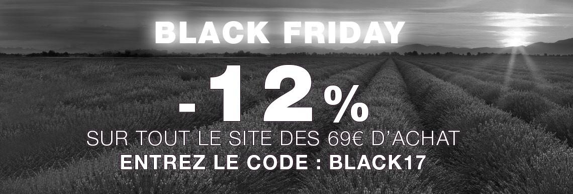 -12% sur tout le site à partir de 69€ d'achat