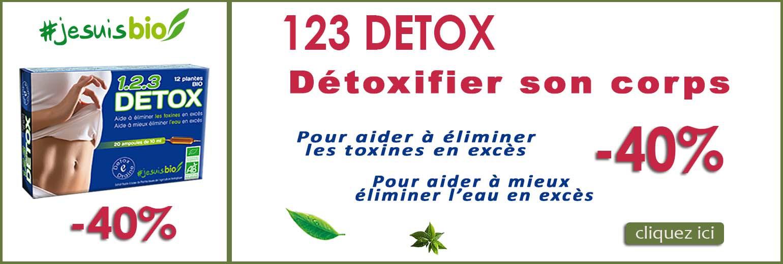 123 detox promo -40 pourcent