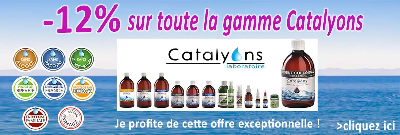 catalyons -oligos éléments-12% sur toute la gamme